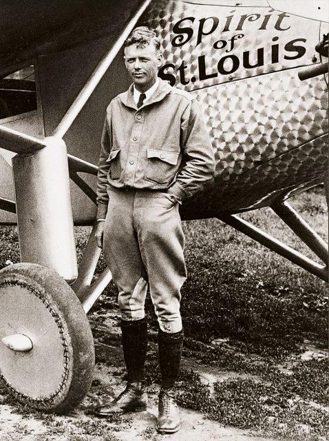Longines: Charles Lindbergh bei seiner Atlantiküberquerung 1927