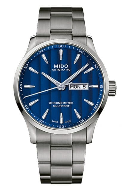 Mido: Multifort Chronometer 1 Frontalansicht