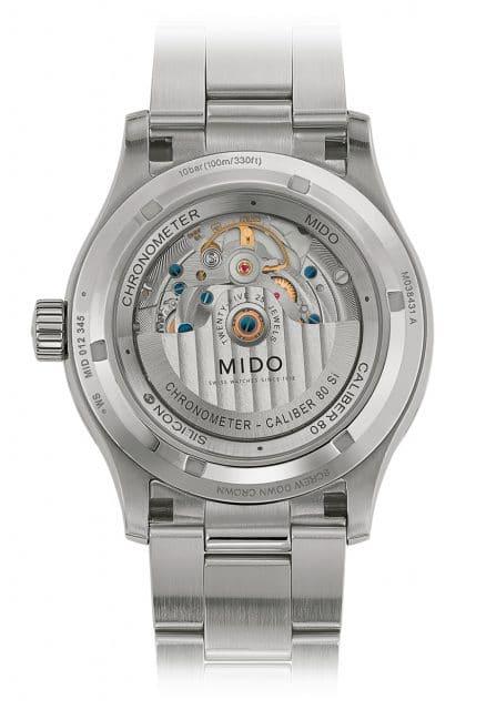 Mido: Multifort Chronometer 1 Rückansicht