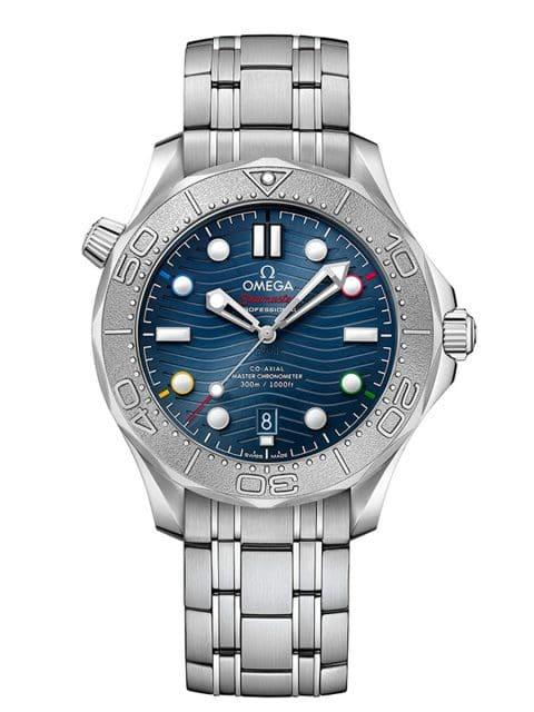 """Omega: Seamaster Diver 300M """"Peking 2022"""""""