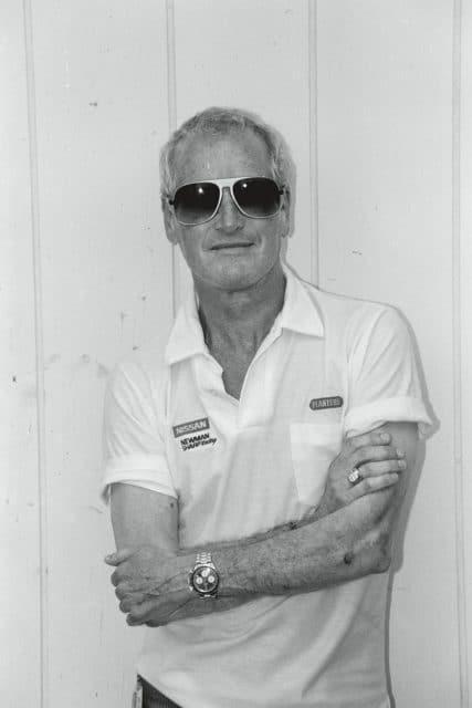Paul Newman mit der Rolex Cosmograph Daytona Referenz 6263 am Arm
