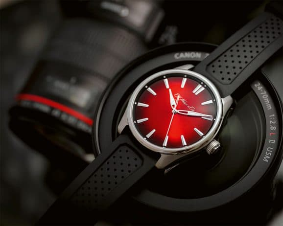 H.Moser & Cie.: Pioneer Centre Seconds Swiss Mad Red