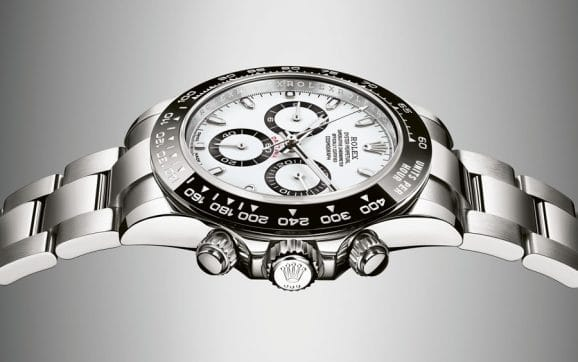 Rolex: Daytona mit weißem Zifferblatt