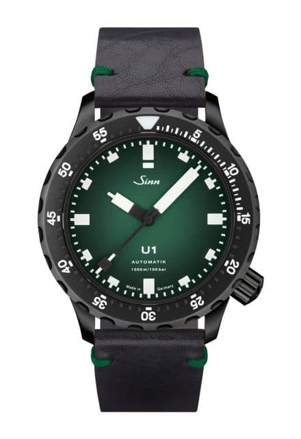 Sinn U1 C: Die auf 100 Exemplare limitierte Sonderedition entstand in Zusammenarbeit mit der Uhrenzeitschrift Chronos