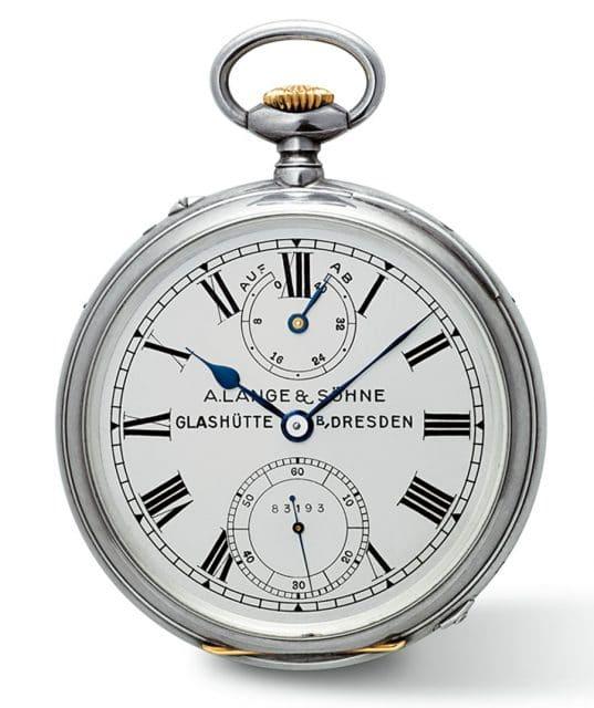 A. Lange & Söhne: Historischer Taschenchronometer