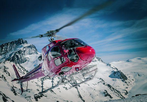 Air Zermatt im Einsatz