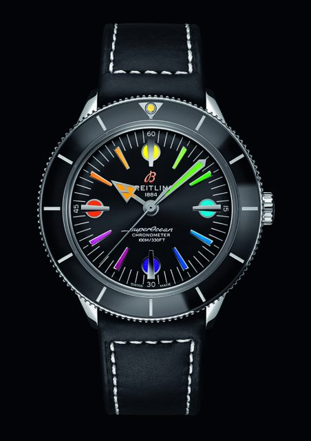 Breitling: Superocean Heritage 57 Limited Edition Rainbow