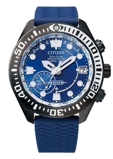 Citizen: Promaster/Eco-Drive Satellite Wave GPS Diver 200 m