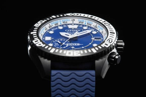 Citizen: Promaster/Eco-Drive Satellite Wave GPS Diver 200 m