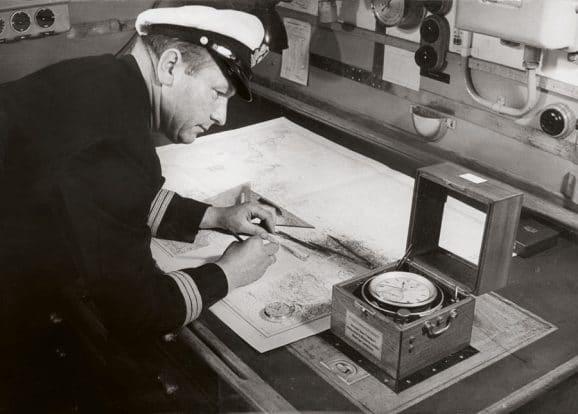 Glashütte: Anzeigenmotiv Marine-Chronometer