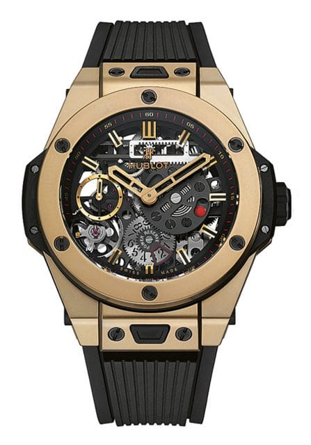 Hublot: Big Bang Meca-10 Magic Gold