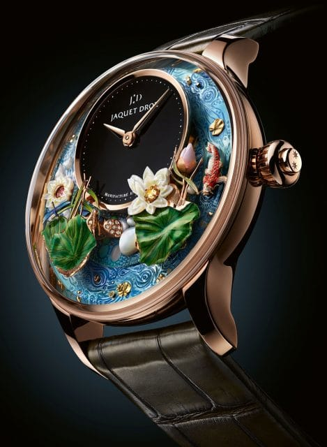 Jaquet Droz: Magic Lotus Automaton