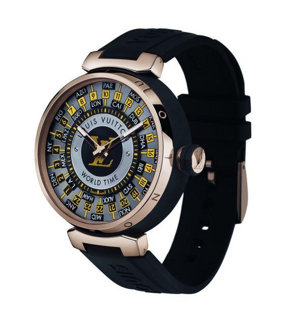 Louis Vuitton: Tambour World Time Runway