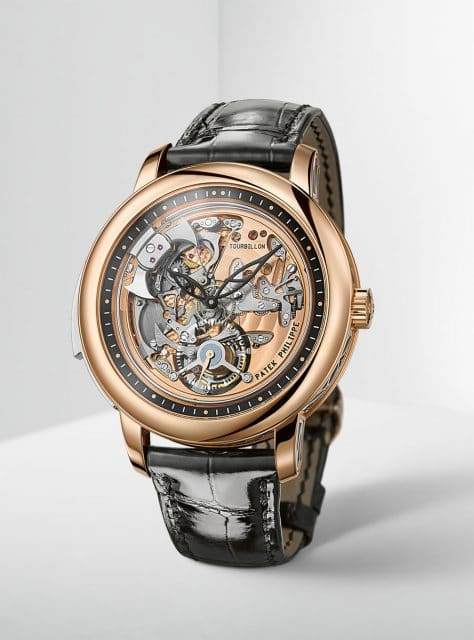 Patek Philippe: Minutenrepetition mit Tourbillon Referenz 5303