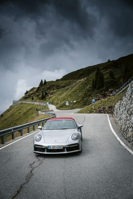 Porsche: 911 Turbo Frontansicht