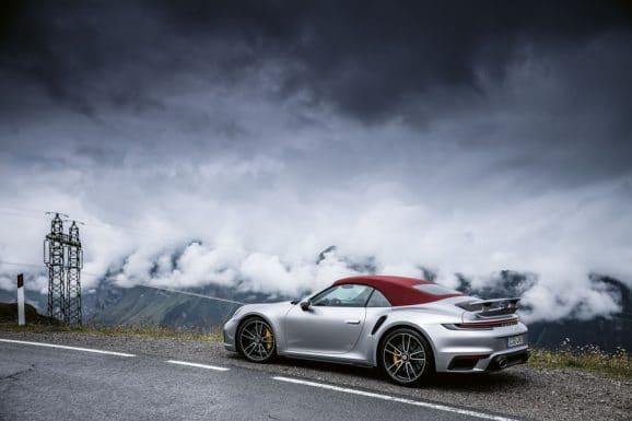 Porsche: 911 Turbo Seitenansicht