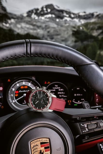 Porsche Design: Chronograph Custom-Built in Porsche 911 Turbo