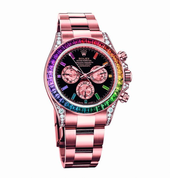 Rolex: Oyster Perpetual Cosmograph Daytona in Everose Gold