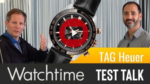 Erster Watchtime Test Talk: der neue TAG Heuer Carrera Sport Chronograph im Fokus