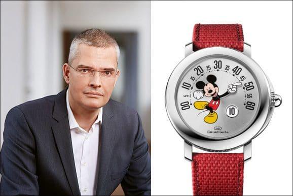 Tipp für eine bunte Uhr von Chronos-Chefredakteur Rüdiger Bucher: Mickey Mouse von Gerald Genta (Bulgari)