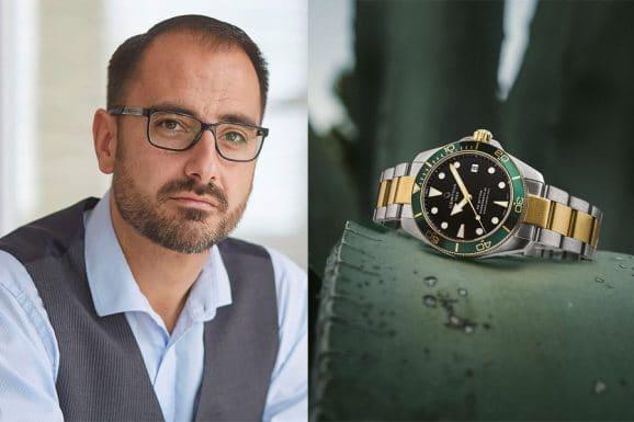 Alexander Krupp, Redakteur Chronos, entscheidet sich für die Certina DS Action Diver