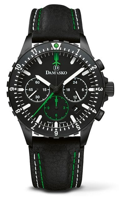 Damasko: DC86 Green Black