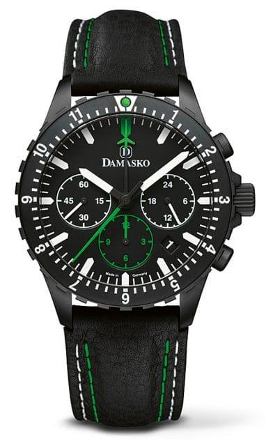 Damasko: DC86 Green Black