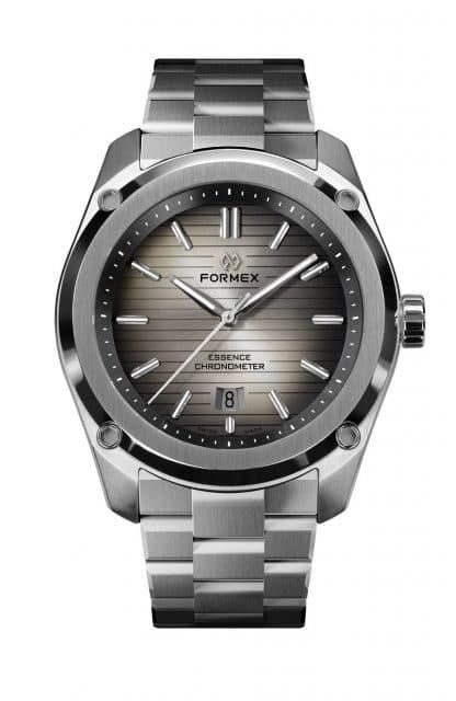 Formex: Essence ThirtyNine mit grauem Degradé-Zifferblatt, das nach as nach außen hin immer dunkler wird