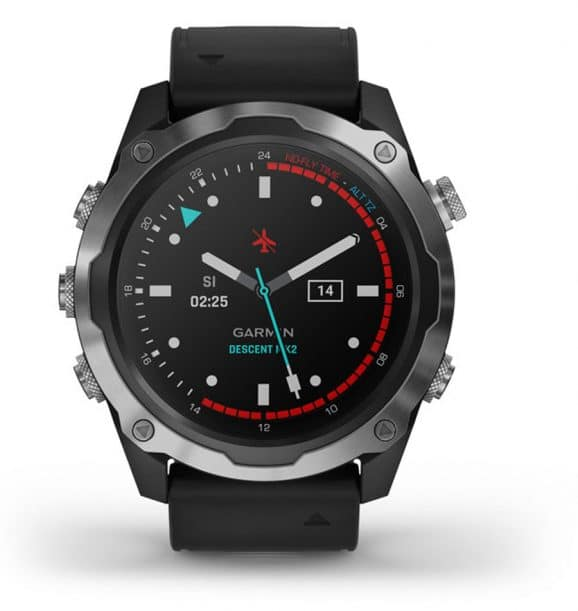 Garmin: Descent Mk2 in Schwarz