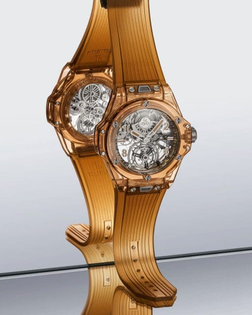 Hublot: Big Bang Tourbillon Automatic Orange Sapphire