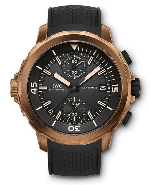 "IWC: Aquatimer Chronograph ""Expedition Charles Darwin"""