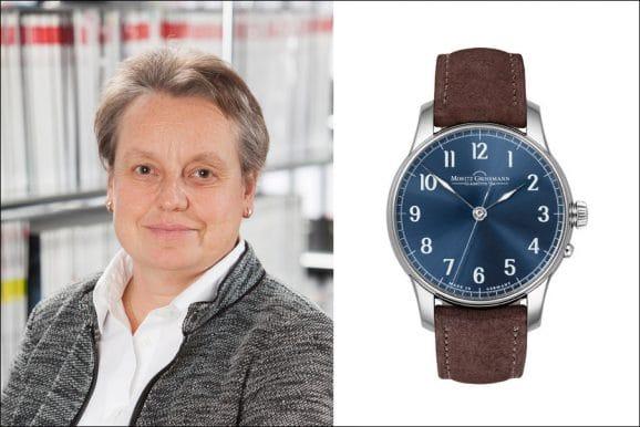 Tipp von Martina Richter, stv. Chefredakteurin UHREN-MAGAZIN, für eine schlichte Uhr: Moritz Grossmann Zentralsekunde
