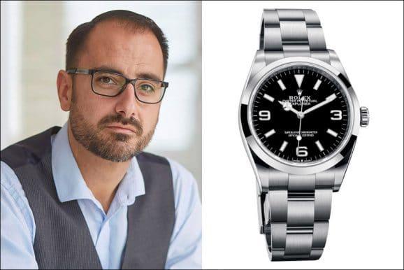 Chronos-Redakteur Alexander Krupp findet die neue Rolex Explorer sehr gelungen
