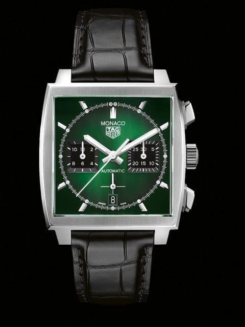 TAG Heuer: Monaco Green Dial