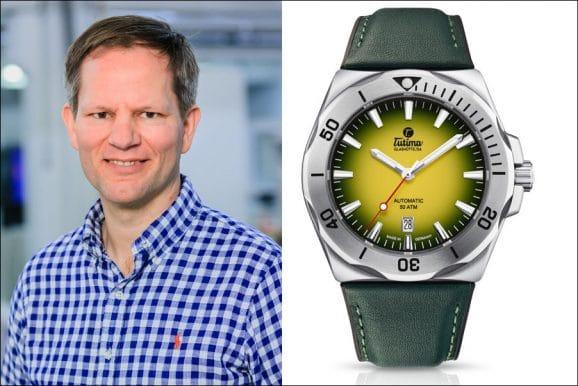 Jens Koch, Redakteur Chronos, wählt die Tutima M2 Seven Seas S