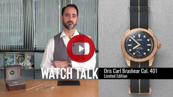 Watch Talk: Oris Carl Brashear Cal. 401 Limited Edition