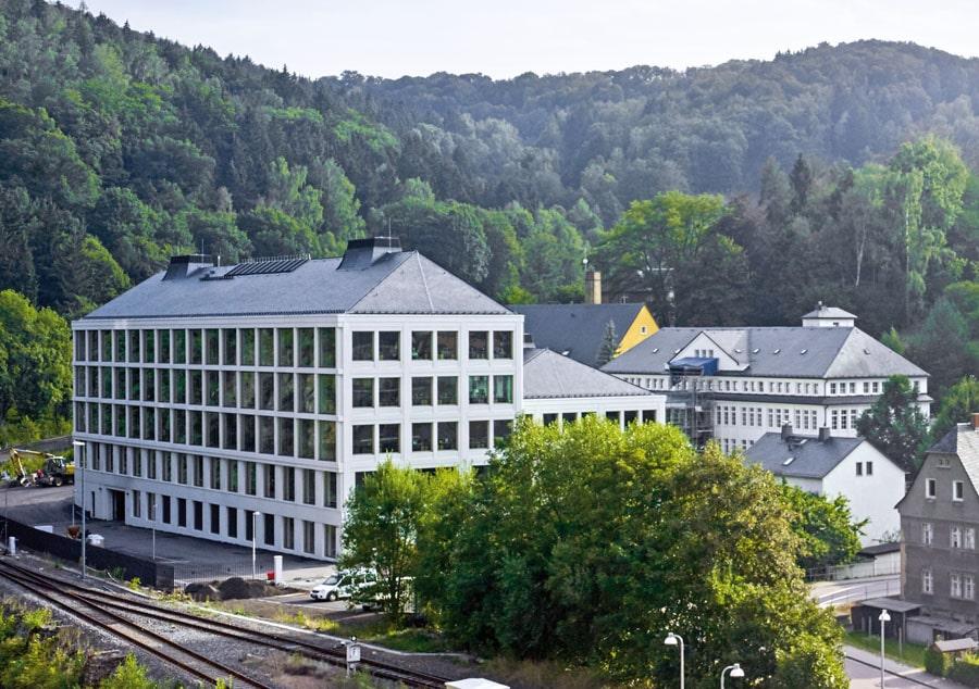 A. Lange & Söhne: das 2015 eröffnete Manufakturgebäude