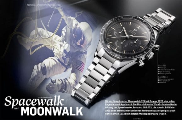 Getestet in Chronos 02.2021: Omega Speedmaster Moonwatch 321