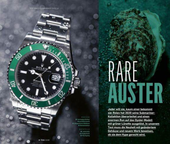 Begehrter denn je: Die Rolex Submariner Date LV mit grüner Lünette