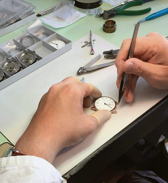 Circula Zeitmesser aus Handarbeit