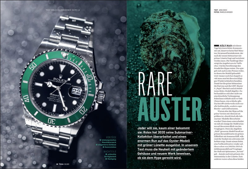 Produkt: Download: Rolex Submariner Date LV im Test