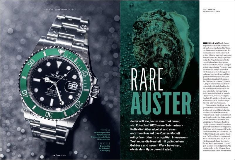 Produkt: Download: Rolex Submariner Date LV im Test