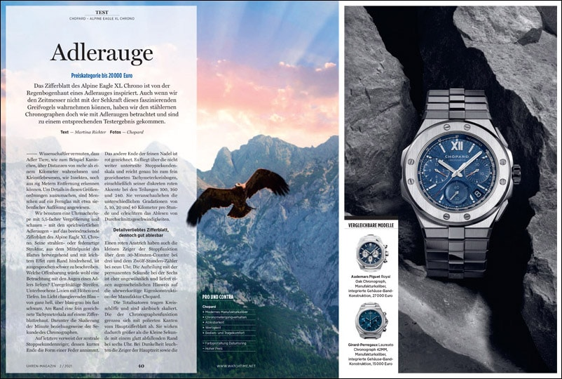 Produkt: Download: Chopard Alpine Eagle XL Chrono im Test