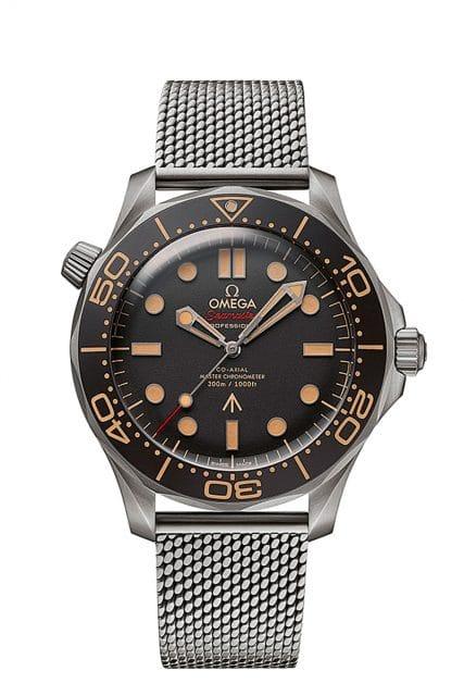 Goldene Unruh 2021 Kategorie C Platz 2: Omega Seamaster Diver James Bond