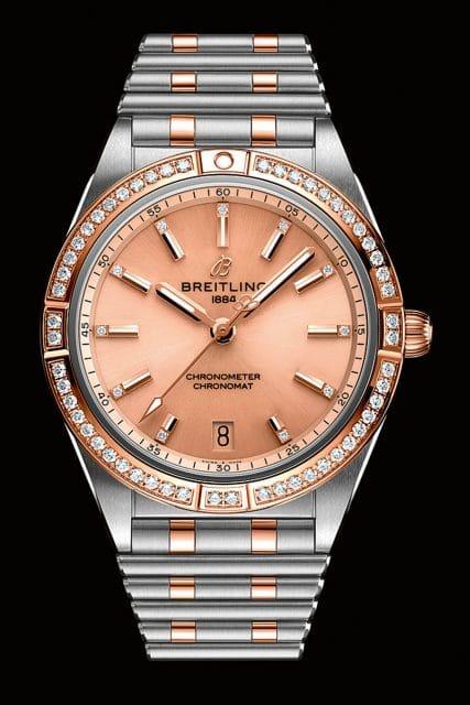 Goldene Unruh 2021 Kategorie Damenuhr 2021: Breitling Chronomat Automatic 36