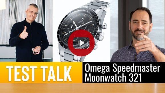Einfach auf das Bild klicken und alle Details zur spannenden Omega Speedmaster Moonwatch 321 erfahren!