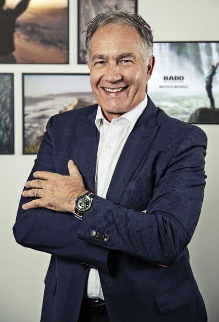 Rado-CEO Adrian Bosshard