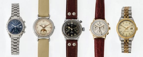 5 Uhrenmodelle