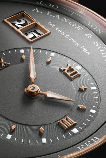 A. Lange & Söhne: Lange 1 Ewiger Kalender Uhrzeitanzeige