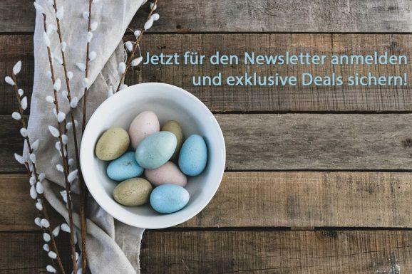 Bewerbung Newsletter Ostern 2021